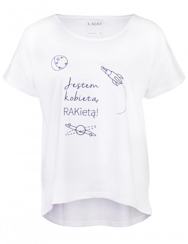 """Femi-Shirt """"Jestem Kobietą Rakietą"""""""